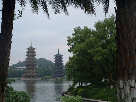 Pagoda im Stadtpark von Guilin - Stadtpark Guilin