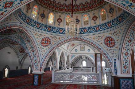 Auf dem Obergeschoss - Külliye Moschee