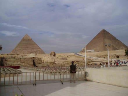 Pyramiden mit Sphinx - Pyramiden von Gizeh