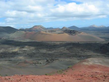 Vulkane - Nationalpark Timanfaya (Feuerberge)