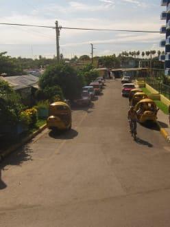 Coco taxi - Einkaufs-Center Varadero