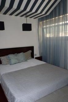 Bett im Zimmer 102 - Hotel Principe Real