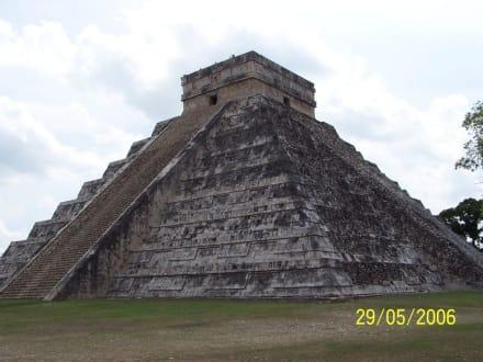Chichen-Itza Pyramide - Ruine Chichén Itzá