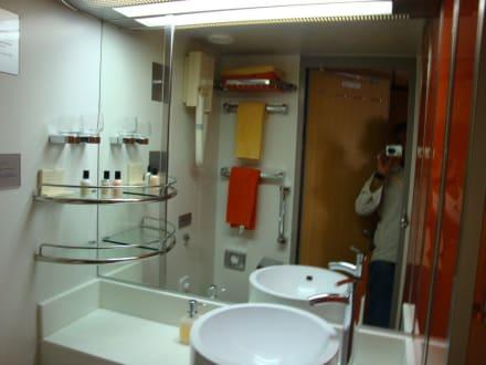 """unser badezimmer"""" - bild mein schiff 1"""