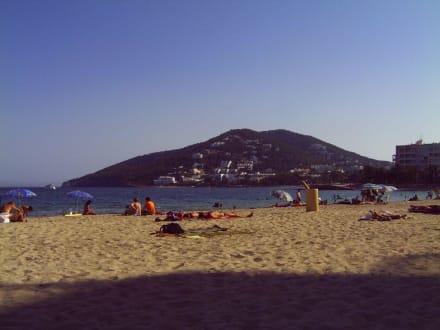 Stadtstrand Santa Eulalia - Strand Santa Eulària des Riu