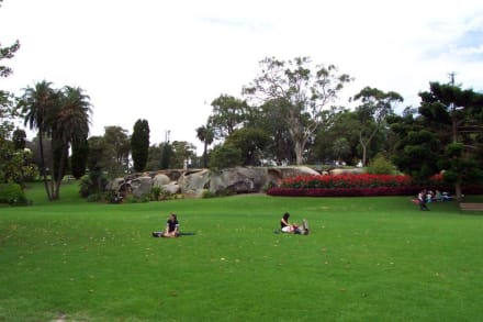 Relaxen in den Parkanlagen - Botanischer Garten Royal Botanic Gardens