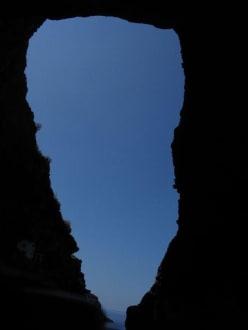 Blick aus der Höhle / Piratenbucht - Piratenbucht