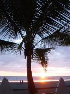 Sonnenuntergang - Strand Jaco