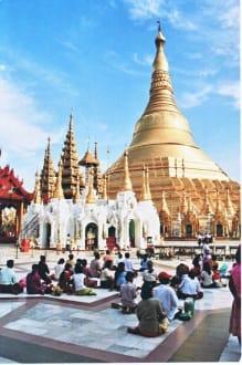 Wunscherfüllender Platz - Shwedagon Pagode