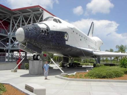 ...wie klein der Mensch... - Kennedy Space Center