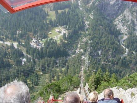 Talfahrt mit der Gelmerbahn - Gelmerbahn