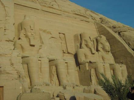 Großer Tempel von Abu Simbel - Tempel von Abu Simbel