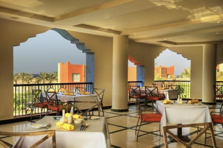 Main restaurant terrace -