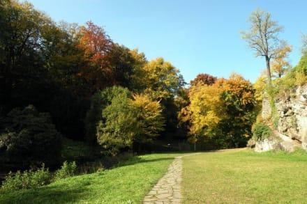 Parkanlage - Burg Rabenstein
