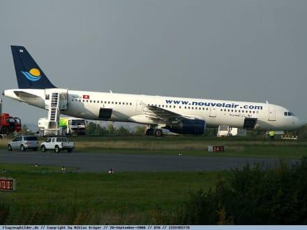26.09.2008 man war das ne Landung...ô.Ô - Flughafen Dortmund (DTM)
