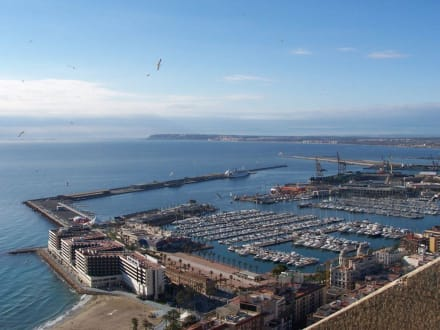 Hafen von Alicante - Yachthafen Alicante