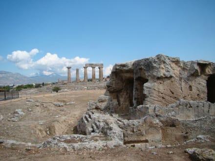 Die Glauke-Quelle - Das antike Korinth