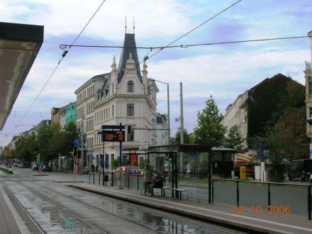 Strassenbahnhaltestelle - Altstadt Leipzig