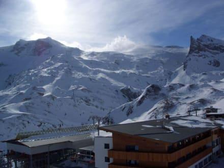 Blick von der Sommerbergalm - Hintertuxer Gletscher