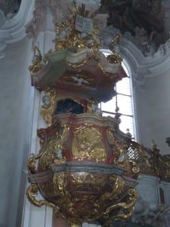 Die goldene Kanzel - Kloster Metten