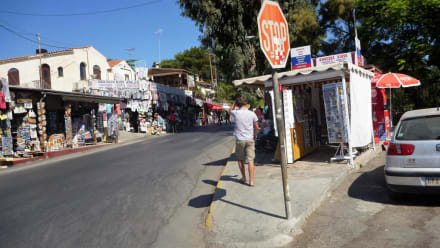 Vor dem Eingang - Knossos