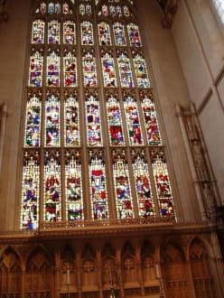 Fenster - Anglikanische Kirche Bath Abbey