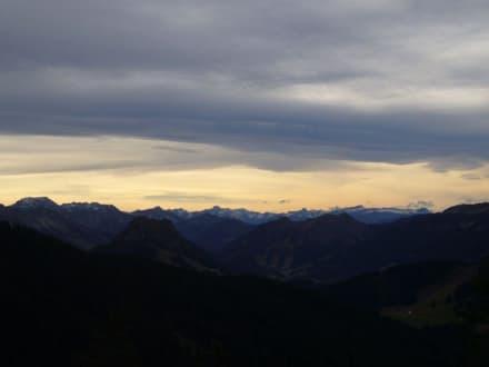 Blick von der Alpspitze - Alpspitz