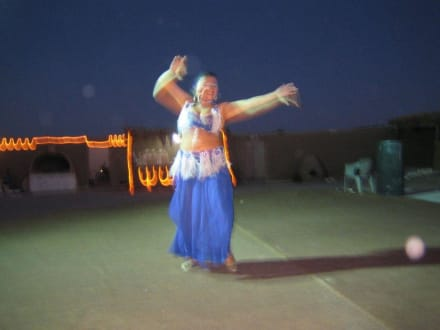 Show während der Quad-Tour - Quad Tour Hurghada