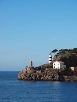Leuchtturm von Soller - Hafen Puerto de Soller/Port de Soller