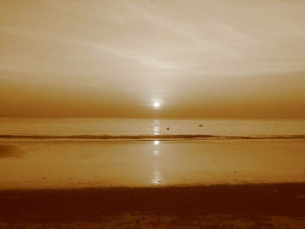 Sonnenuntergang - Strand White Sand Beach