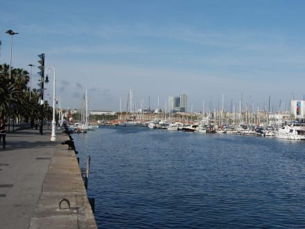 Promenade - Hafen Barcelona