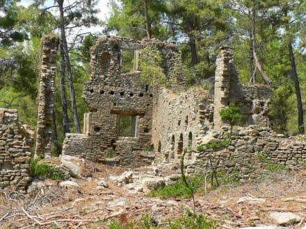 Wohnhaus - Antike Stadt Seleikeia (Lyrbe)