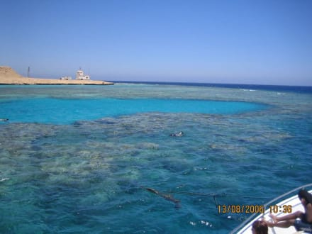 riff vom boot aus - Giftun / Mahmya Inseln
