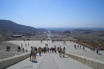 Theben Tempel der Hatschepsut - Tempel der Hatschepsut