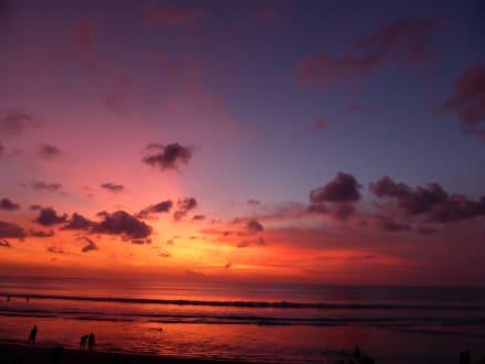Sonnenuntergang in Kuta - Strand Kuta