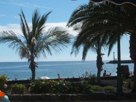 Blick aus einer Strandbar - Playa de las Cucharas
