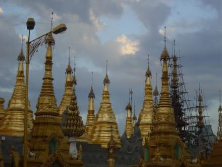 Swedagon Pagoda - Shwedagon Pagode