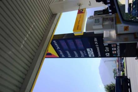 Spritpreise Ende August letzte Tankse vor Italien - Plöckenpass