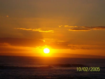 Sonnenaufgang - Playa Camino