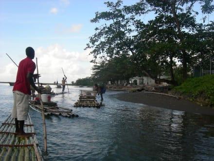 Endstation der Tour - Rio Grande River Rafting