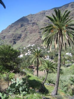 Ortschaft - Landschaft im Valle Gran Rey