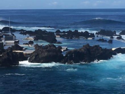 Meerpool Porto Moniz - Meerwasserschwimmbecken