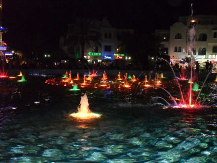Lichtershow El Kantaoui - Brunnen