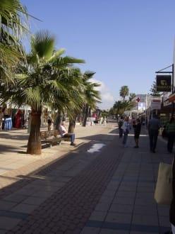 Einkaufsstraße - Fußgängerzone