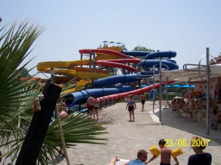 Familienrutschen - Action Aquapark Sunny Beach
