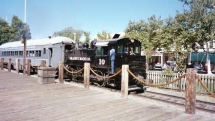 Dampflok in Old Sacramento - Old Sacramento
