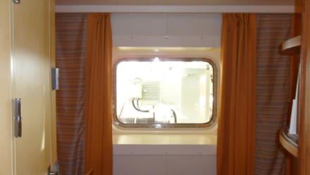 Außenkabine mit Sichtbehinderung - AIDAluna