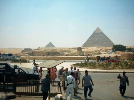 Pyramieden - Pyramiden von Gizeh
