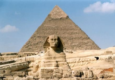 In Giseh - Chephren Pyramide