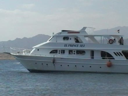 mit diesem schiff machten wir unseren ausflug - Giftun / Mahmya Inseln
